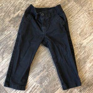 Crazy 8 black khakis